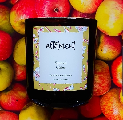 Allotment Candles   Spiced Cider