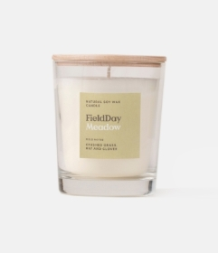 Field Day Meadow Natural Soy Wax Candle (Crushed Grass, Hay & Clover)