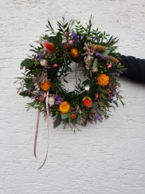 Miss Lucy Lavender Door Wreath