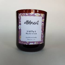 Allotment Candles   Wild fig & Blackcurrant