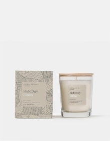 Field Day Linen Candle
