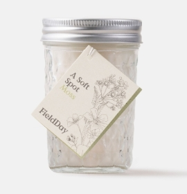 Field Day Moss Jam Jar Soy Candle