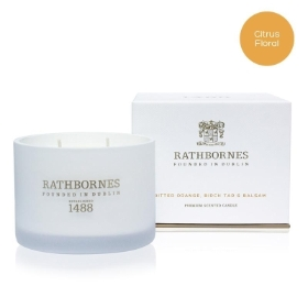 Rathbornes Bitter Orange, Birch Tar & Balsam Classic Candle