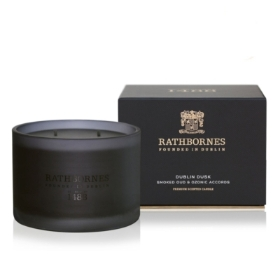 Rathbornes Smoked Oud & Ozone Accords Classic Candle