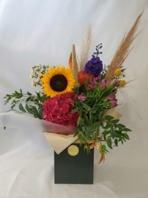 Bouquet of the month   August